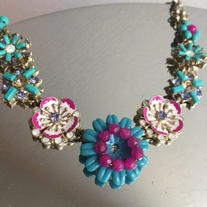 C + I Jardin Flower Statement Necklace